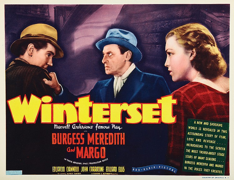 Poster for Winterset (1936)