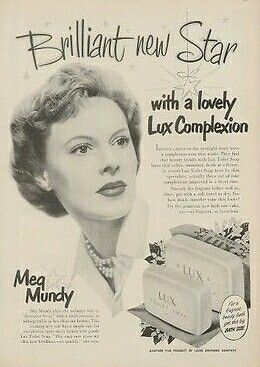 Meg Mundy in Lux Soap Ad