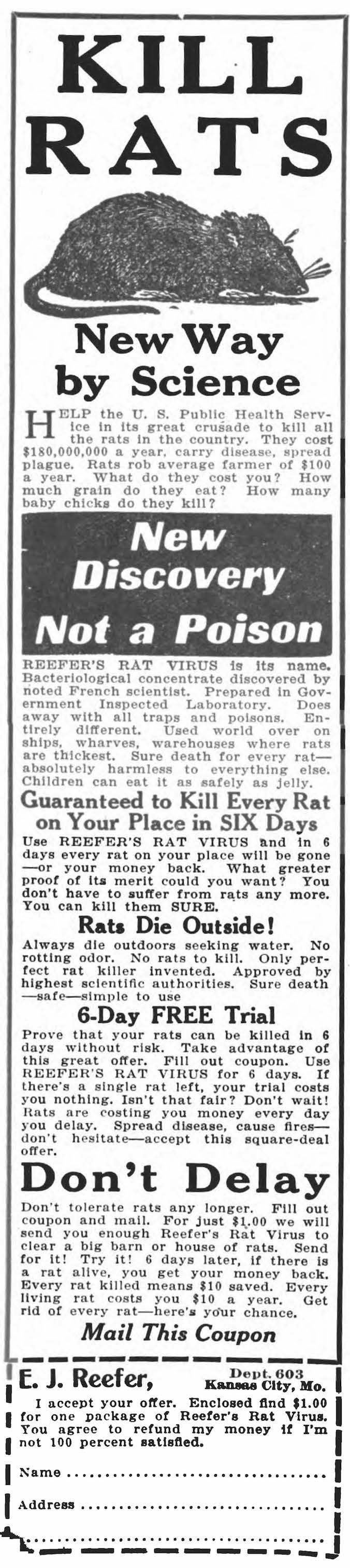 Rat Virus Ad