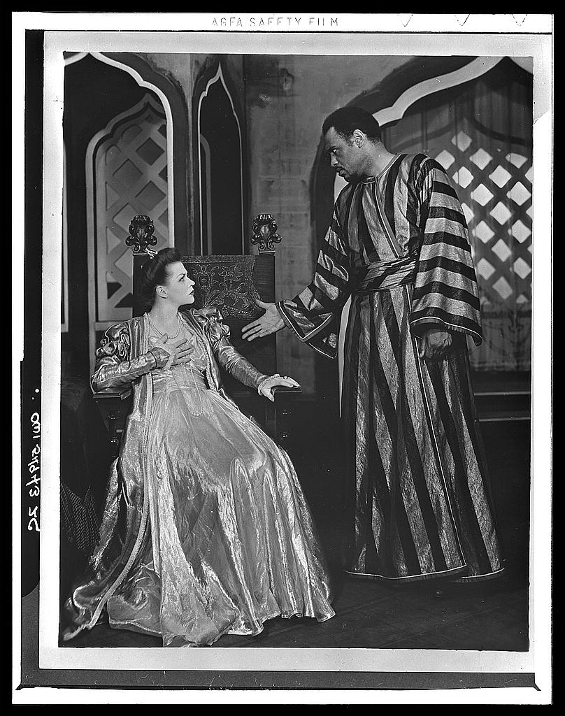 Scene From Othello with Paul Robeson