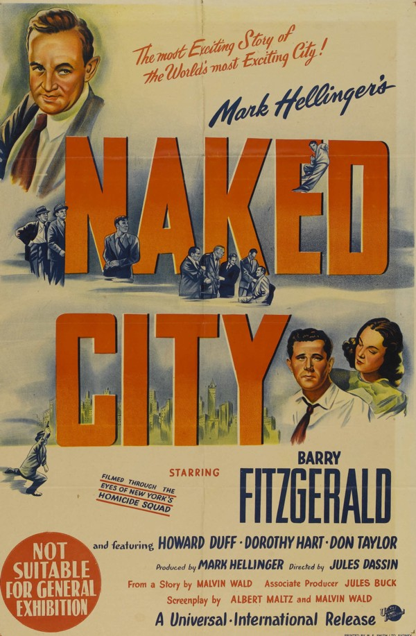 Poster for The Naked City (1948)