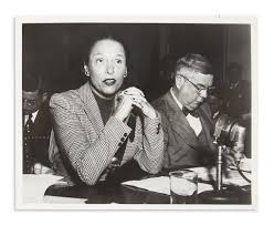 Gale Sondergaard Testifies Before the HUAC