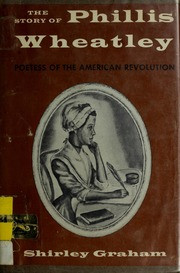 Cover of Graham's The Story of Phillis Wheatley