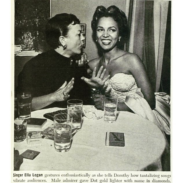 Ella Logan and Dorothy Dandridge
