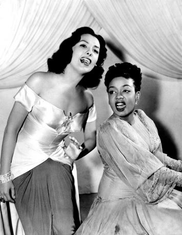 Lena Horne and Hazel Scott